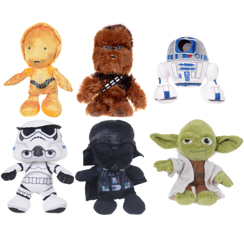Star Wars Characters Toys : Star wars small plush choice of characters one supplied