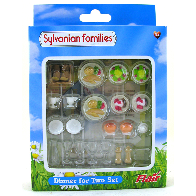 Dinner for two set from sylvanian families wwsm - Sylvanian families cuisine ...