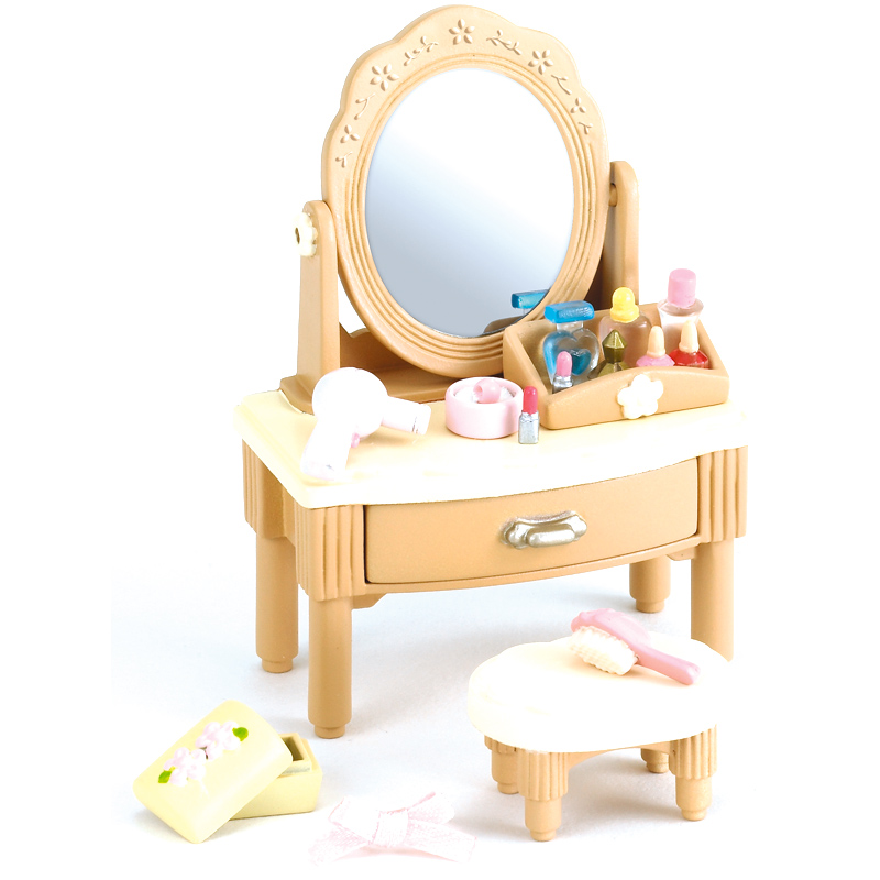 Girls dressing table from sylvanian families wwsm