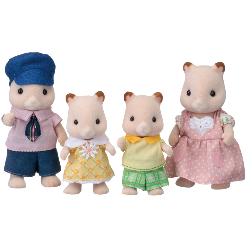 Hamster Family Figures from Sylvanian Families | WWSM