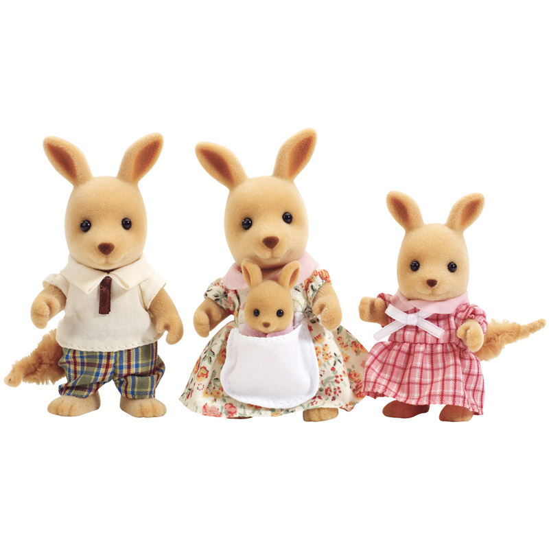 kangaroo family figures from sylvanian families wwsm. Black Bedroom Furniture Sets. Home Design Ideas