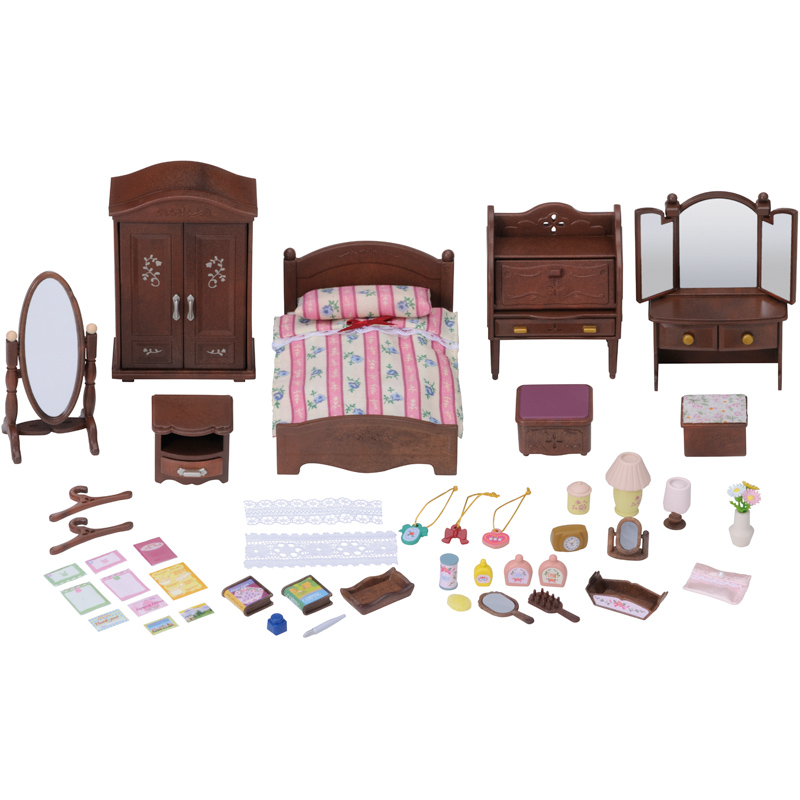 Luxury Master Bedroom Furniture Set From Sylvanian Families Wwsm