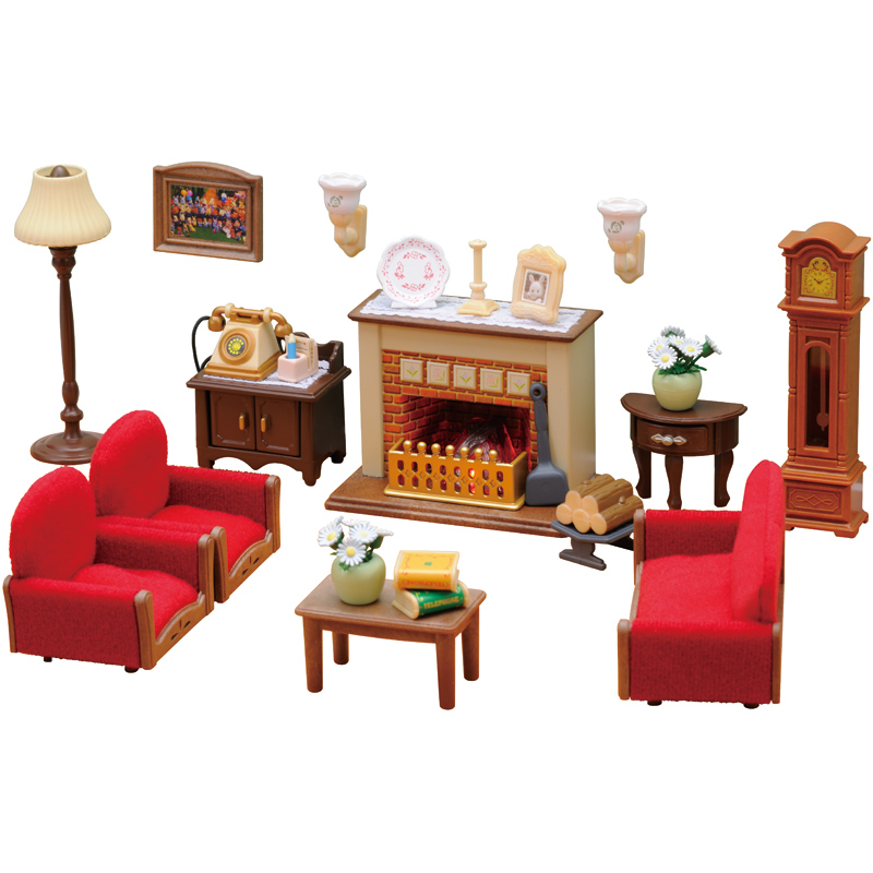 Luxury Living Room Set From Sylvanian Families Wwsm