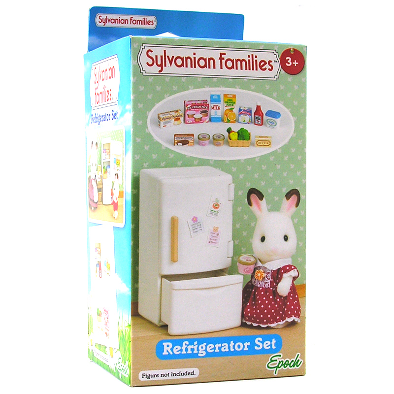 Sylvanian Families Refrigerator Set Dolls House Miniatures