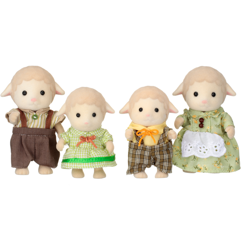 Toys For Family : Sheep family figures from sylvanian families wwsm