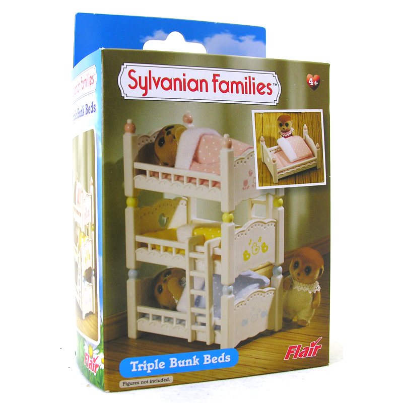 Triple Bunk Beds From Sylvanian Families Wwsm