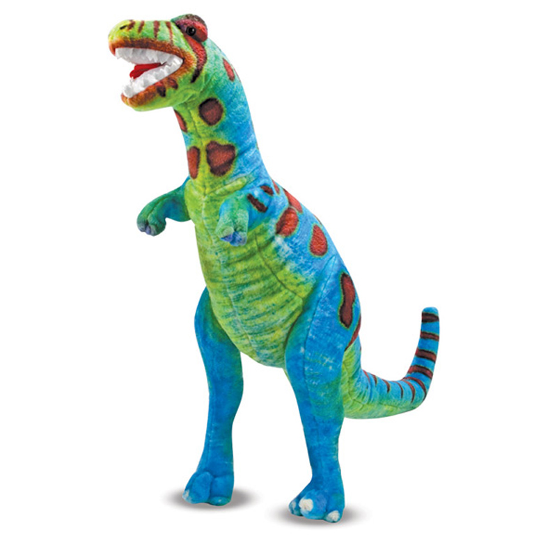 Giant Dinosaur Toy : T rex plush from melissa and doug wwsm