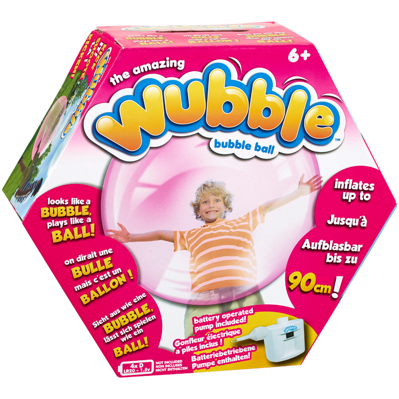 Toys For 10 And Up : The amazing wubble bubble ball from vivid imaginations wwsm