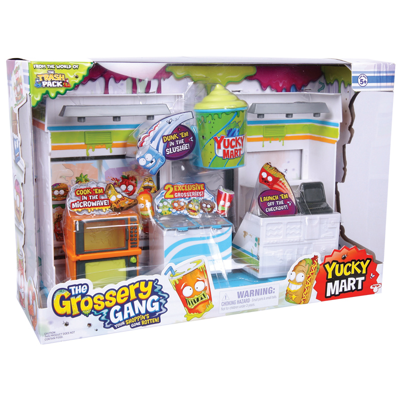 the grossery gang yucky mart playset from grossery gang wwsm. Black Bedroom Furniture Sets. Home Design Ideas