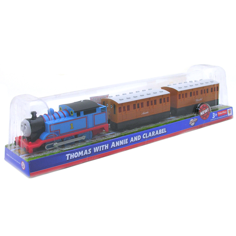 Thomas Amp Friends Trackmaster Thomas With Annie Amp Clarabel