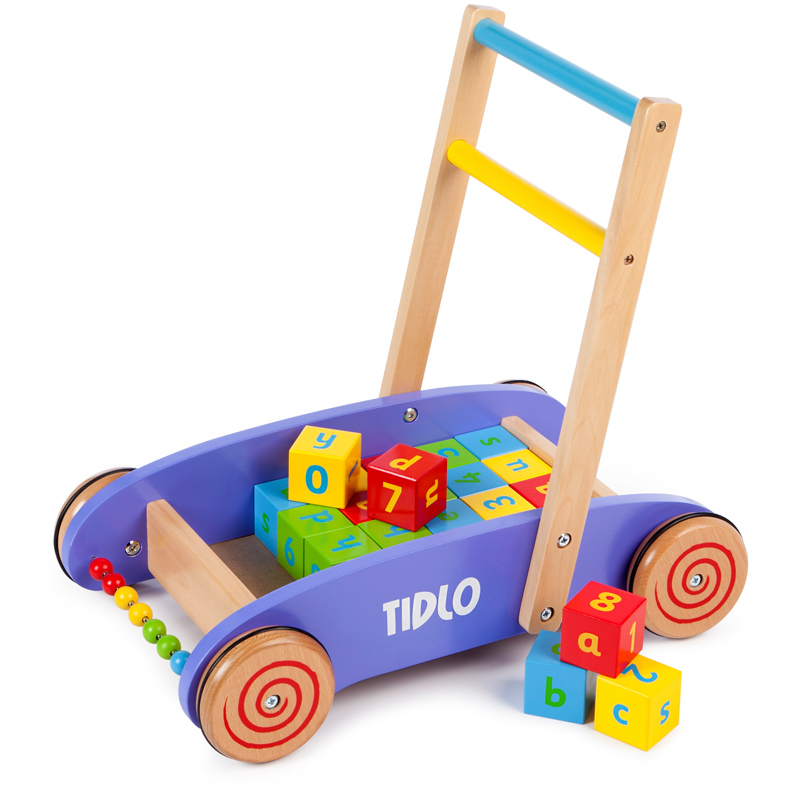 Baby Blocks Toys : Baby walker with abc blocks from tidlo timeless toys wwsm