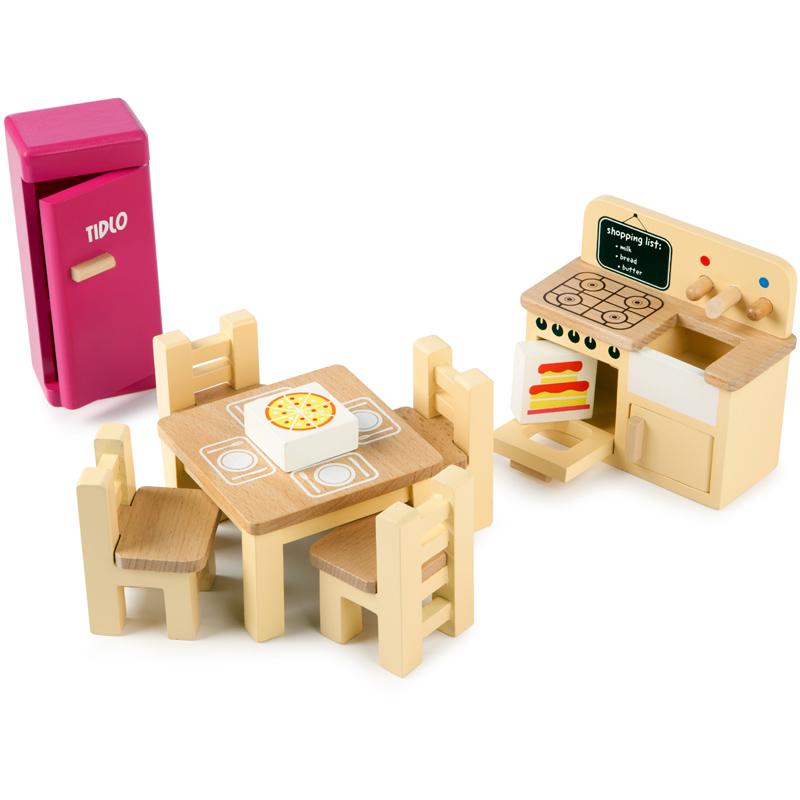 Tidlo Toys Wooden Kitchen