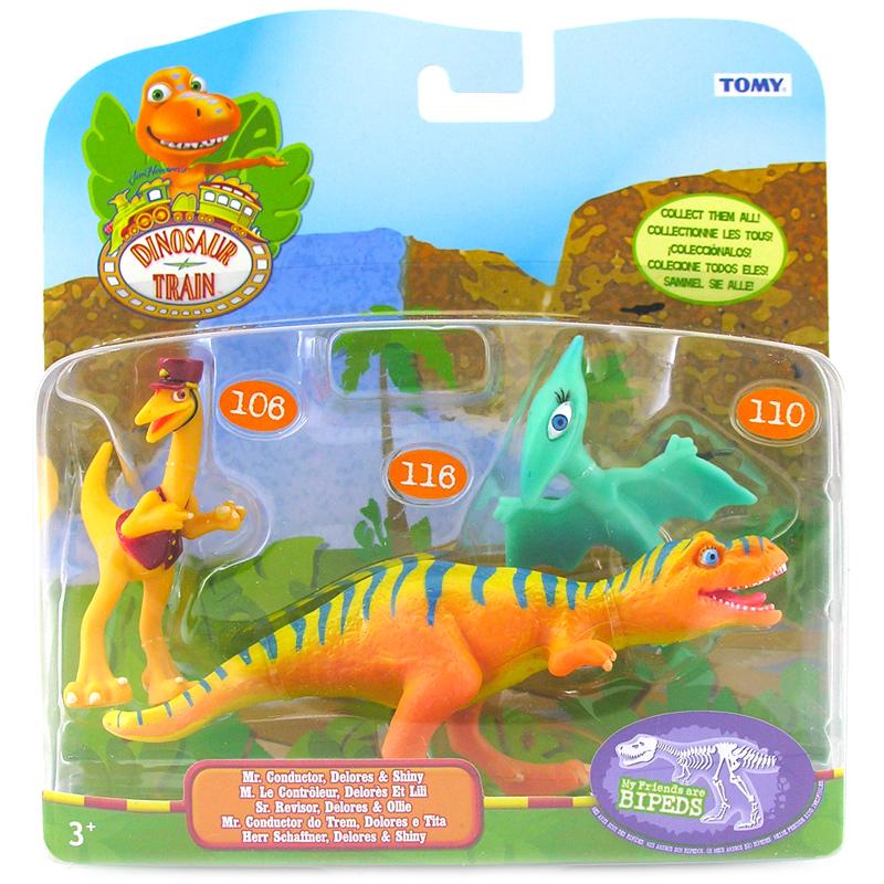 TOMY Dinosaur Train 3 Pack- Choice of 4 (One Supplied) | eBay