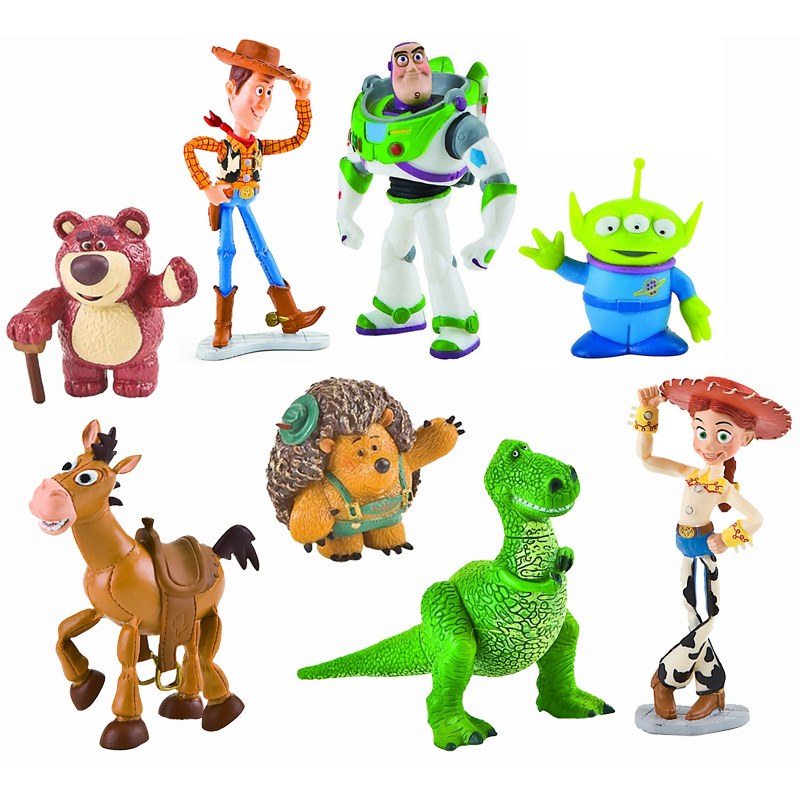 Toy Story Toys : Toy story figures from disney wwsm