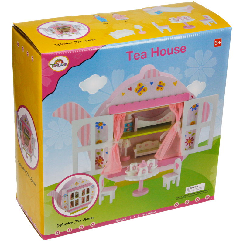 Tidlington Wooden Doll House £79.99 Free Delivery · Toyland Wooden Teapot  House Playset