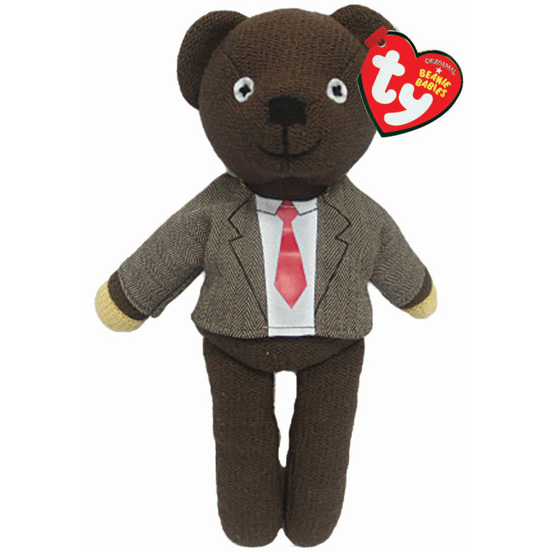 ty mr bean teddy plush choice of teddies one supplied new. Black Bedroom Furniture Sets. Home Design Ideas