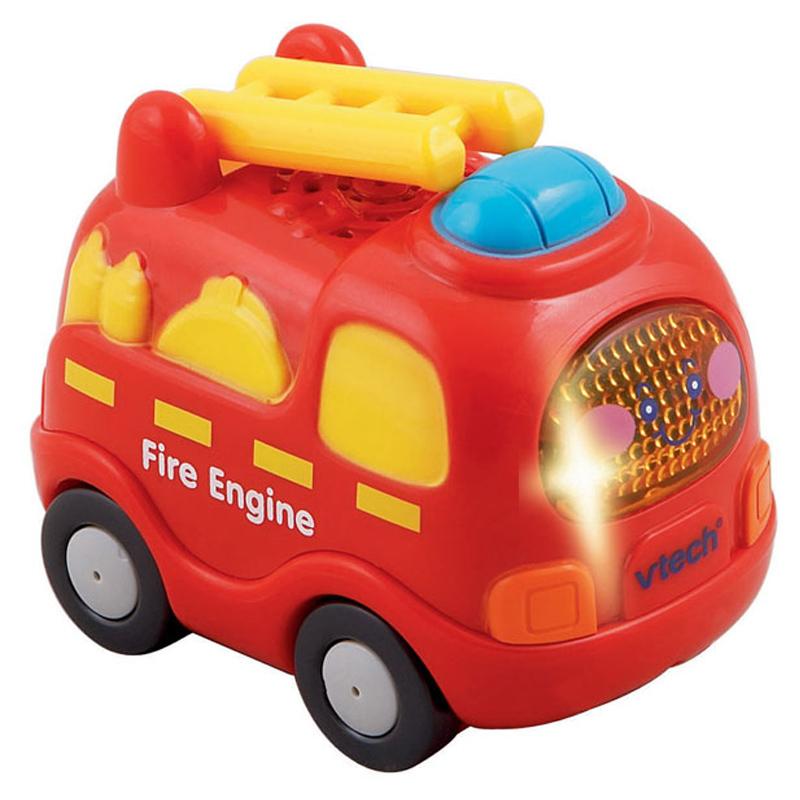 vtech toot toot driver sound light up fire engine ebay. Black Bedroom Furniture Sets. Home Design Ideas
