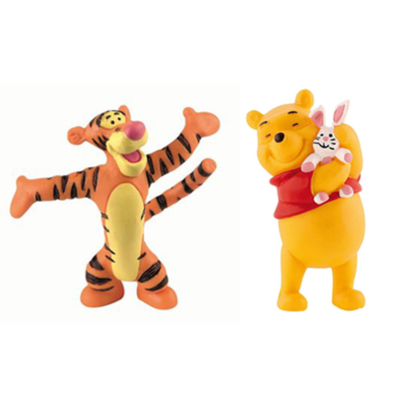 Winnie The Pooh Toys : Winnie the pooh and friends figures from